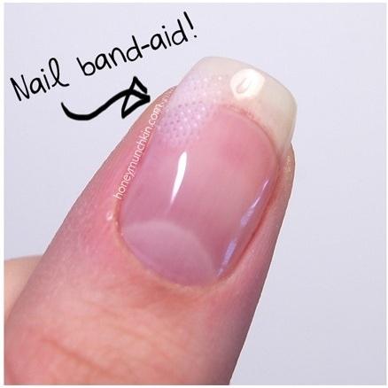 E você tem um band-aid para unhas quebradas!