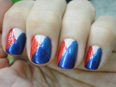 5 Etapa - esmaltação tricolor.