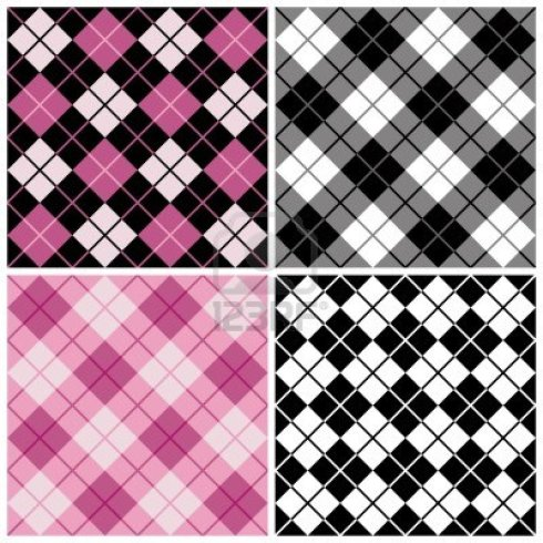 5204492-argyle-plaid-pattern-in-black-and-pink