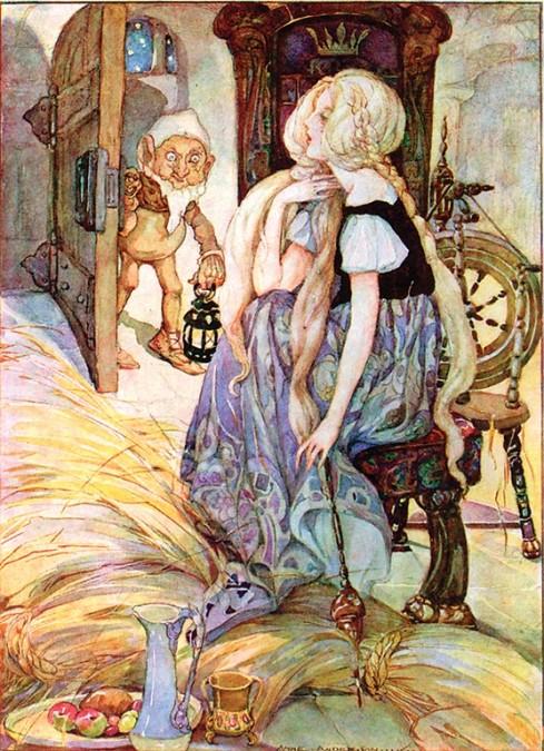 Rumplestiltskin, um dos personagens de conto de fada mais bizarros de todos os tempos