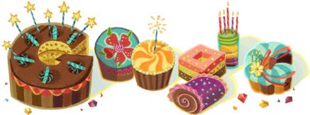 Doodle que o Google me mandou hoje! ^_^